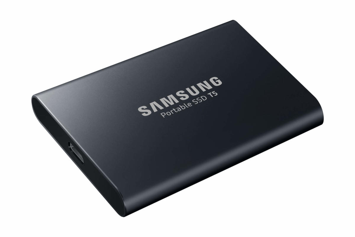 Samsung Portable SSD T5 schwarz